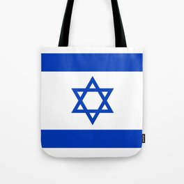 Flag of Israel Tote Bag