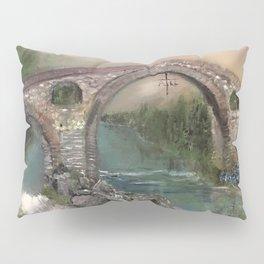 The Roman Bridge, Asturias  Pillow Sham