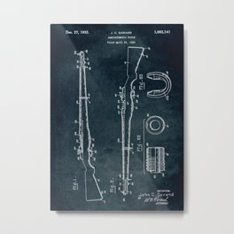 1930 - Semiautomatic rifle Metal Print