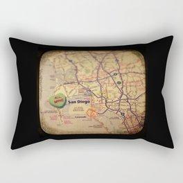 All Mine San Diego Rectangular Pillow