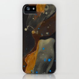 joelarmstrong_rust&gold_046 iPhone Case