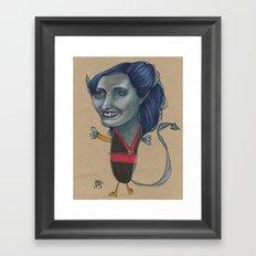 DUSKCREEPER Framed Art Print