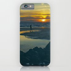 Walking at Sunset iPhone 6s Slim Case