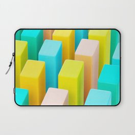 Color Blocking Pastels Laptop Sleeve