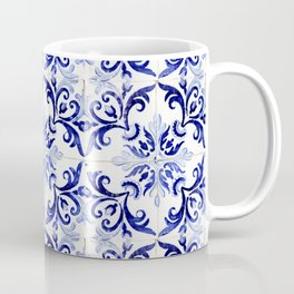 Azulejo V - Portuguese hand painted tiles Coffee Mug