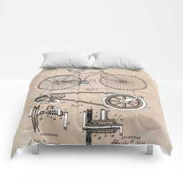 patent Bicycle 1890 Rice Comforters