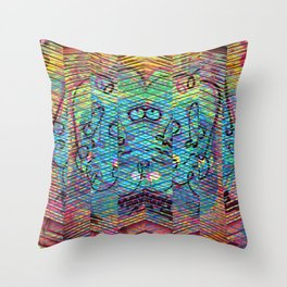 Friday 31 May 2013: Materialistically observable objectified zealotry. Throw Pillow