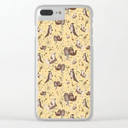 Otters Clear iPhone Case