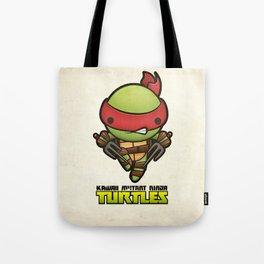 Raphael - Kawaii Mutant Ninja Turtles Tote Bag