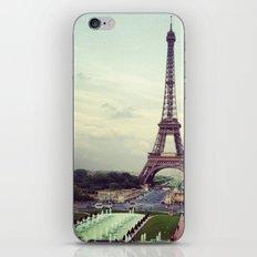 Summer in Paris iPhone & iPod Skin