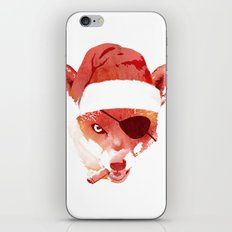 Bad Santa Fox iPhone & iPod Skin