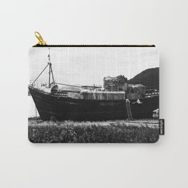 Shipwreck on the beach Carry-All Pouch