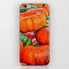 Heirloom Pumpkins iPhone Skin