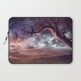 It made scars in the sky  Laptop Sleeve
