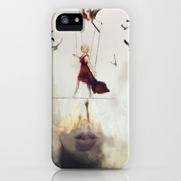 In Between iPhone Case