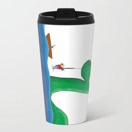 I Caught Nessie Travel Mug