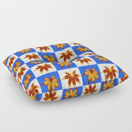 Patchwork Autumn Floor Pillow