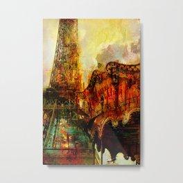 Le carrousel  Metal Print