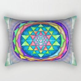 Sri Yantra VII.XI Rectangular Pillow
