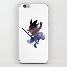 SPACE GOKU iPhone & iPod Skin