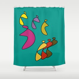 MONJES Shower Curtain