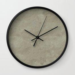 concrete texture monochrome warm grey Wall Clock