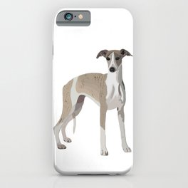 Whippet Love iPhone Case