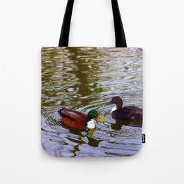 Duck duo Tote Bag