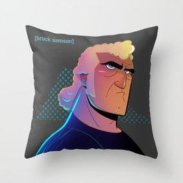 Brock Samson Throw Pillow