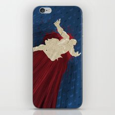 When Hondas Fly (Homage To Street Fighter's E. Honda) iPhone & iPod Skin