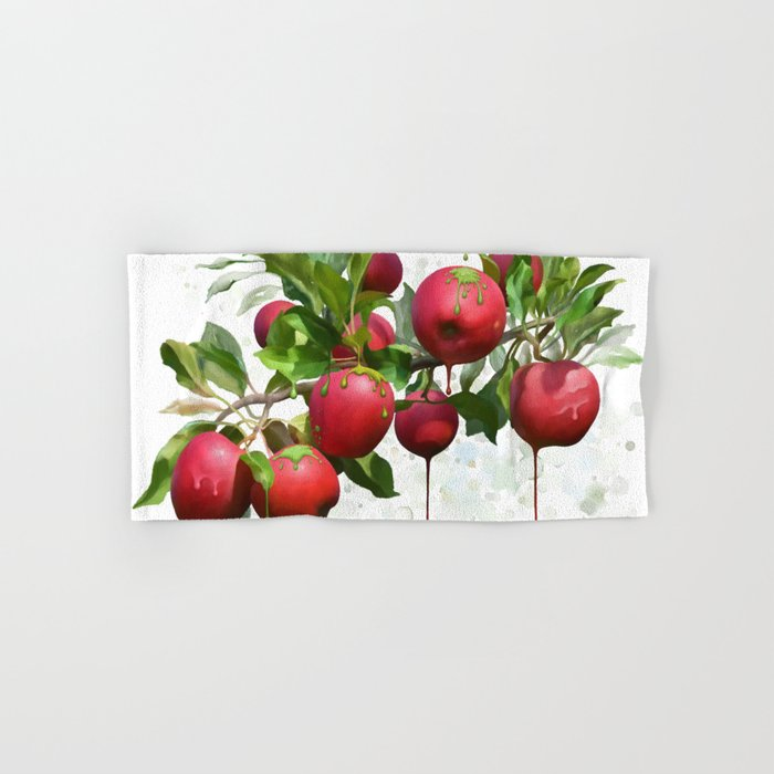 Melting Apples Hand & Bath Towel