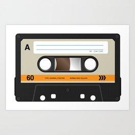 K7 cassette 8 90 Art Print