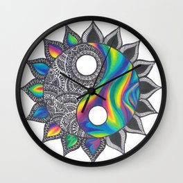 Yinyang Wall Clock