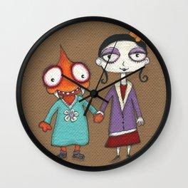 Helen & Trudy Wall Clock