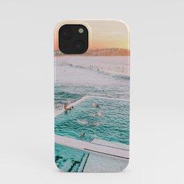 Dreamy Sunset Iconic Bondi Iceberg Pool  iPhone Case