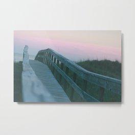 Over the boardwalk Metal Print