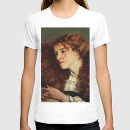 Gustave Courbet - Jo, the Beautiful Irishwoman - Jo, la belle Irlandaise T-shirt