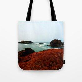 Red Thunder Rock Cove Tote Bag