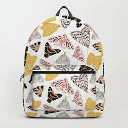 Moth's Diverse Beauty Pattern Backpack