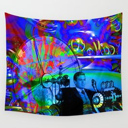Time machine Wall Tapestry