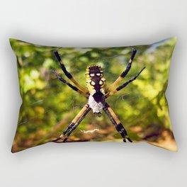 Garden Spider Rectangular Pillow