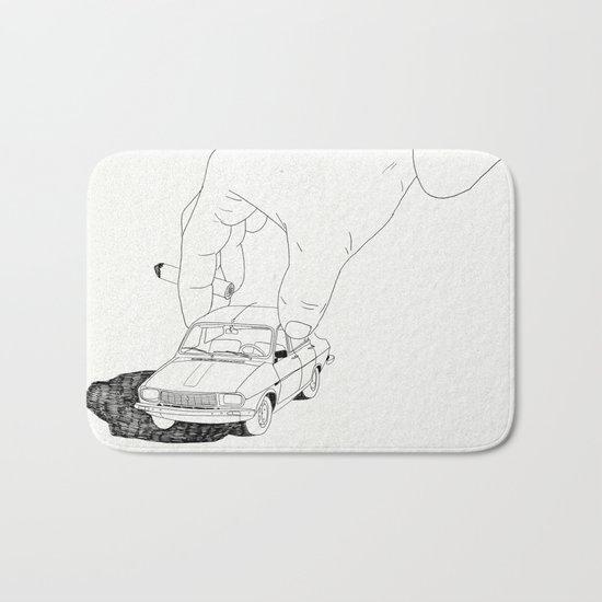 Driving home Bath Mat