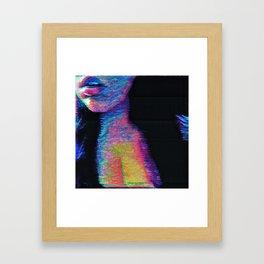 Illusion Pulse Framed Art Print