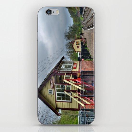 Consall signal box - colour iPhone & iPod Skin