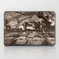 nightmare iPad Cases featuring Nightmare by Kiki collagist