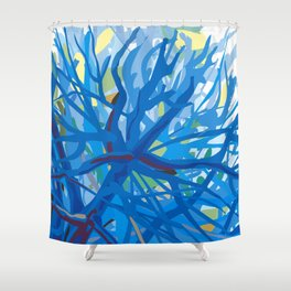 Morning at Whittier Narrows Wilderness Shower Curtain