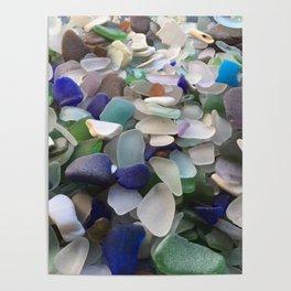 Sea Glass Assortment 2 Poster