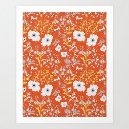 Camelia Joy. Art Print