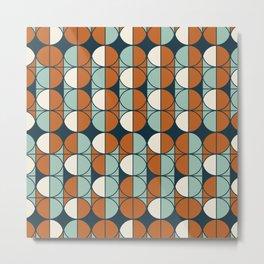 Retro pattern Metal Print