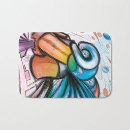"""""""L'art pour l'art"""" (digital medium) Bath Mat"""